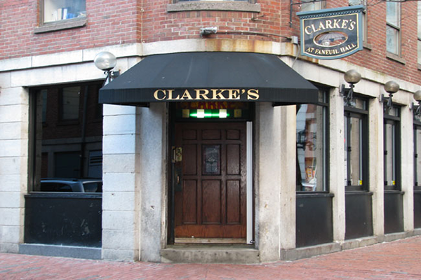 entrance to clarkes